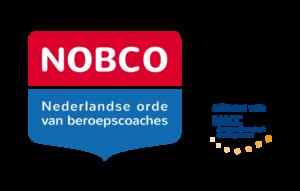 Ervaringen ACT coaching Logo NOBCO Nederlandse orde van beroepscoaches